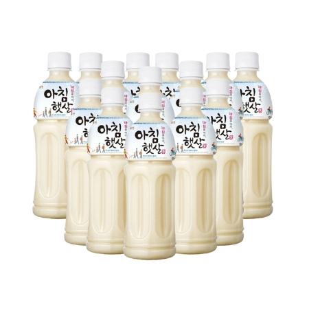 [EC] WOONGJIN-Morning rice- Thùng 20 chai nước gạo buổi sáng Hàn Quốc 500ml/ chai