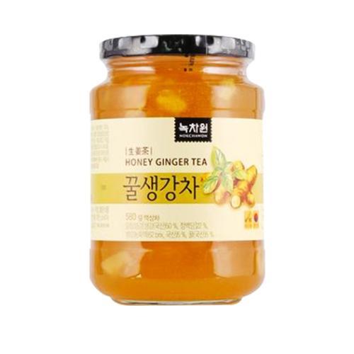 [EC]- NOKCHAWON-HONEY GINGER TEA-Trà gừng mật ong 580g/hũ