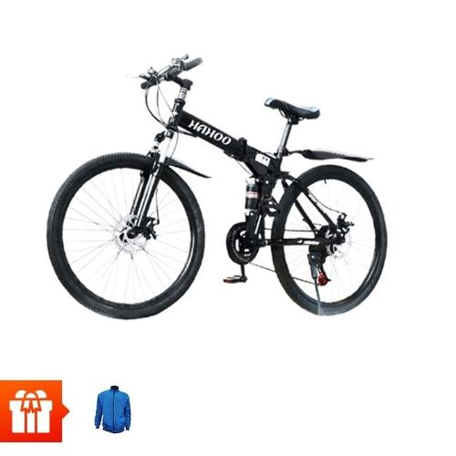 [CRS T12]Xe đạp HAHOO ( model F8, có thể gấp gọn)