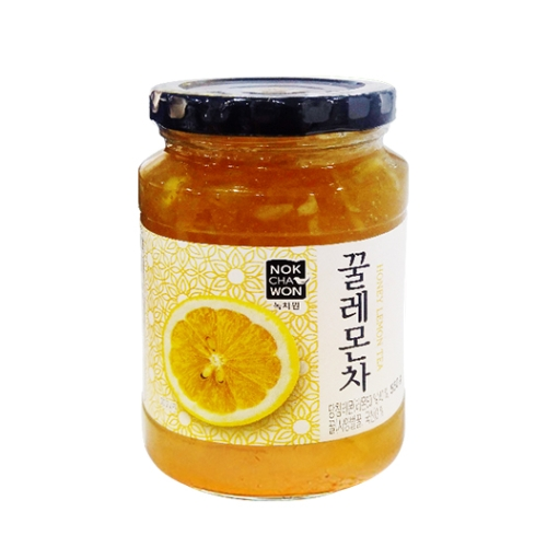 [EC]-NOKCHAWON-HONEY LEMON TEA- Trà chanh mật ong 550g/hũ