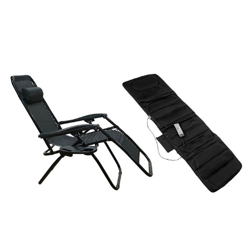 [MK-2021]Combo Nệm massage toàn thân Bella + Ghế xếp thư giãn Kachi
