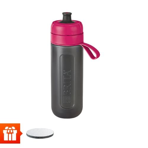 [EC]-BRITA-  Bình lọc nước fill &go Active Pink 600ml (kèm Micro Disc)