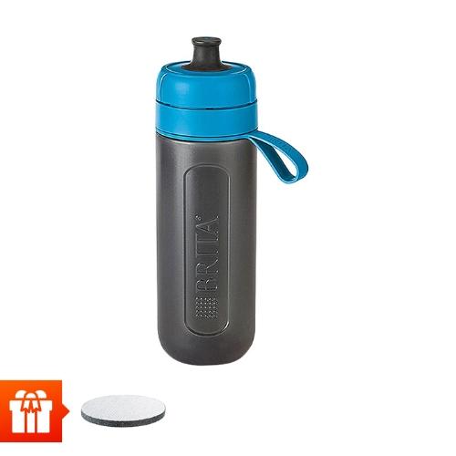 [EC]-BRITA-  Bình lọc nước fill &go Active Blue 600ml (kèm Micro Disc)