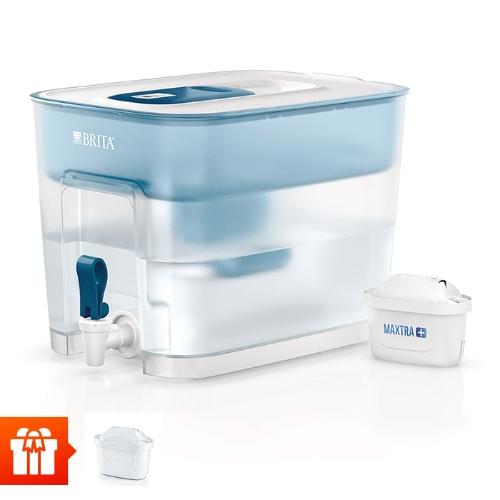[EC]-BRITA-  Bình lọc nước fill & enjoy Flow Basic Blue 8.2L (kèm Maxtra Plus)+ 1 lõi lọc