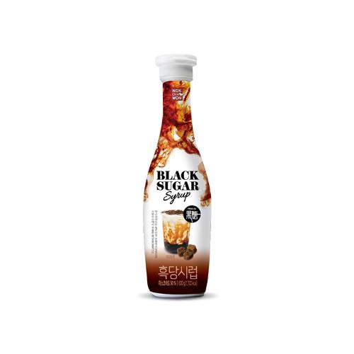 NOKCHAWON Chai siro đường đen ( 600g) BLACK SUGAR SYRUP