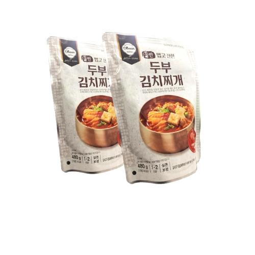 SHINSEGAE Combo 2 gói canh kim chi đậu hủ cay (480g)