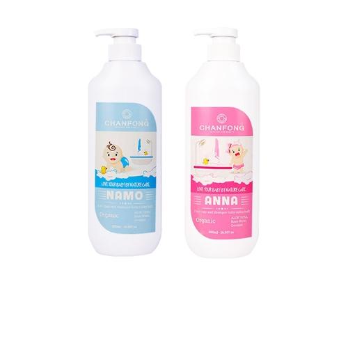 [EC]-CHANFONG- Combo 2 chai tắm gội Baby– Namo/Anna 500ml/chai