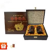 SANTE365 PREMIUM ĐÔNG TRÙNG HẠ THẢO KOREA +Tặng  2 hộp  Hồng sâm thái lát tẩm mật ong