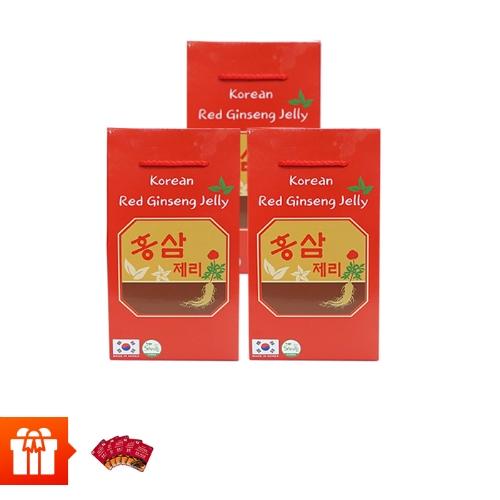 [EC]-SANTE365-Combo 3 hộp kẹo mềm vị hồng sâm (200g/hộp giấy)+ 5 mặt nạ hồng sâm