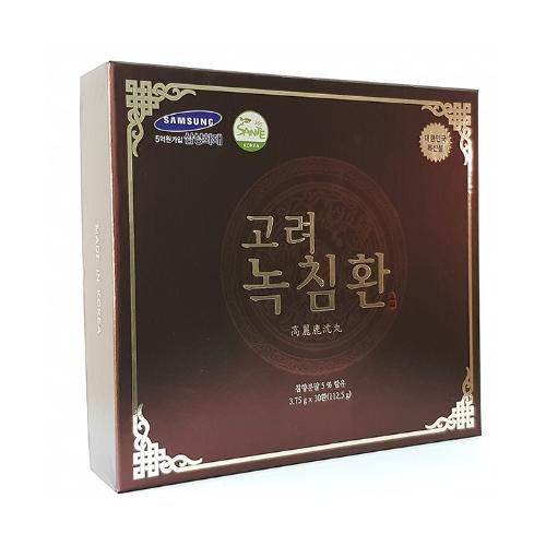 SANTE365 - 30 Viên hoàn trầm hương nhung hươu + 1 hộp Kẹo mềm vị hồng sâm + 1 hộp Nước uống hồng sâm