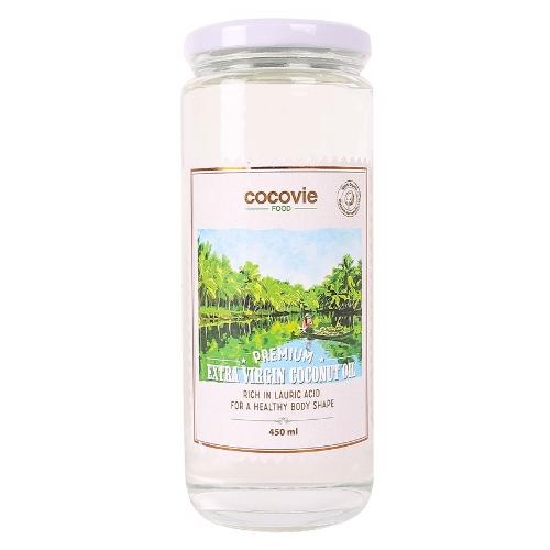 [EC]-COCOVIE -Dầu dừa thượng hạng 450ml