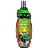 COCOVIE-Tinh chất dưỡng tóc dày khỏe hương hoa từ dừa organic 100ml
