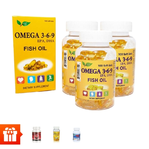 [Autums Sale] Combo 4 hộp TPBVSK Omega 369(100 viên/ hộp )+ 1 hộp Omega 369(30 viên/ hộp )+1 hộp TPBVSK Wellness Nutrition (30 viên)+ 1 hộp TPBVSK Shark Cartilage ( 100 viên/ hộp) (sụn cá mập)