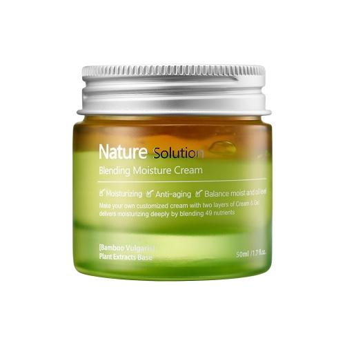 [EC]-The Plant Base- Kem dưỡng ẩm làm mềm da Nature Solution Blending Moisture Cream 50ml