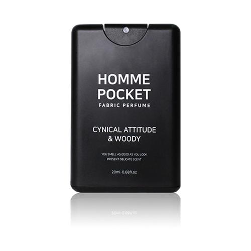 Celluver - Nước Hoa Vải Bỏ Túi Homme Pocket Cynical Attitude & Woody 20ml