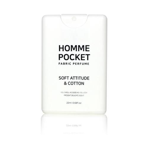 Celluver -Nước Hoa Vải Bỏ Túi Homme Pocket Soft Attitude & Cotton 20ml