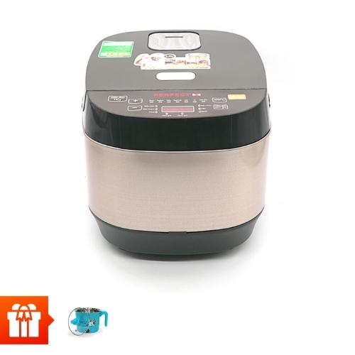 [Nor]PERFECT- Nồi cơm điện tử PF-C308 + Nồi nấu mì mini cầm tay Perfect MS-D01
