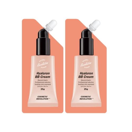 [EC]-Cosmetic Revolution-Combo 2 tuýp kem trang điểm BB chống nắng SPF50+ PA+++ (25g x 2)
