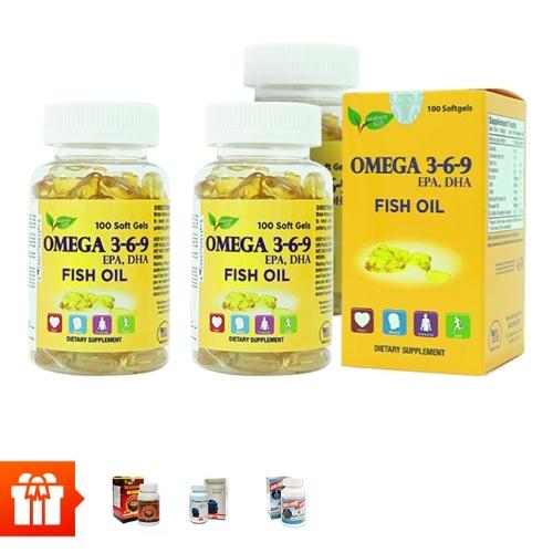 [60P]- Combo 4 hộp TPBVSK Omega 369(100 viên/ hộp)+1 hộp TPBVSK Wellness Nutrition (30 viên)+ 1 hộp TPBVSK Green Living - hỗ trợ tăng cường tuần hoàn não (60 viên/ hộp) + 1 hộp  Canxi Green Living(60 viên)
