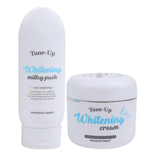 Mersenne Beaute -Bộ dưỡng da trắng sáng Tone Up Body và Mặt (50g)