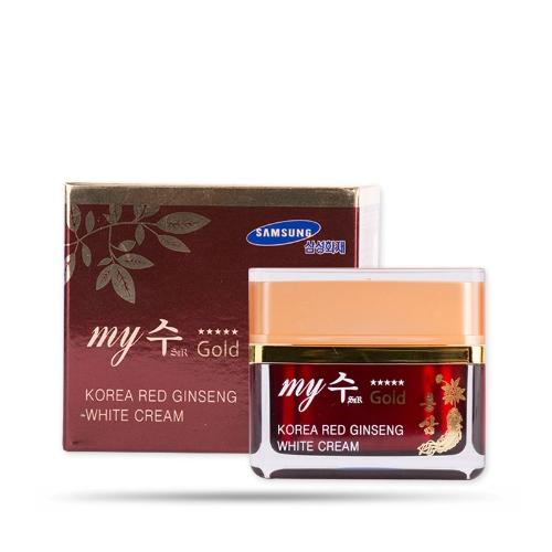 My Gold - Kem hồng sâm dưỡng trắng da Red Ginseng White Cream 50ml