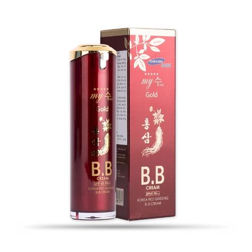 My Gold- Kem lót nền BB Cream hồng sâm đỏ  40ml
