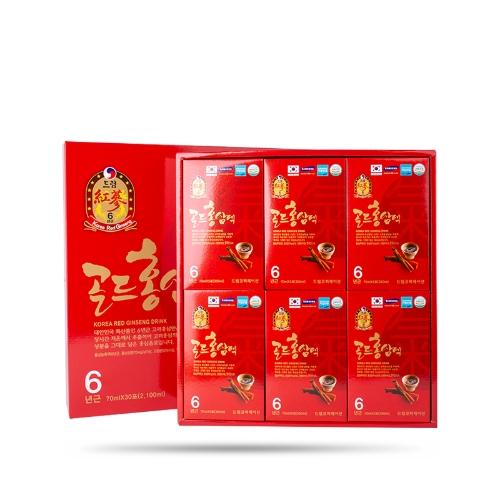 Dream - Nước Uống Hồng Sâm 6 Năm Dream (70 ml x 30 gói)