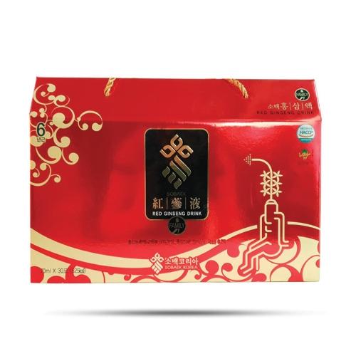 Sobaek - Nước Hồng Sâm 6 Năm Sobaek (70 ml x 30 gói)