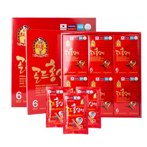 Dream - Combo 2 Nước Uống Hồng Sâm 6 Năm Dream (70 ml x 30 gói)