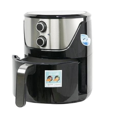 PERFECT - Nồi chiên không dùng dầu PF-335 + Bộ 5 nồi tráng men(Reoona/Mishio)+ Bếp điện đơn PF-HP789-1