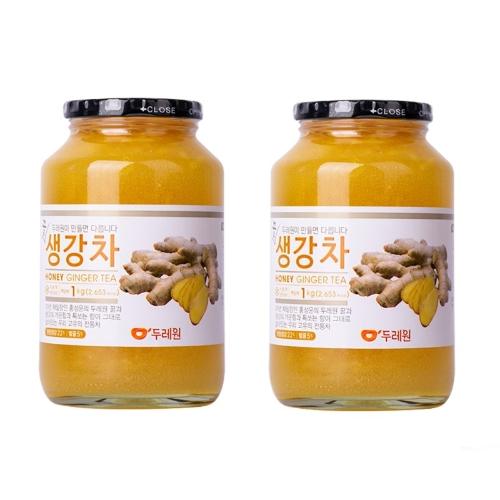 Natural Food - Combo 2 Trà Mật Ong Gừng Dooraewon (1kg)