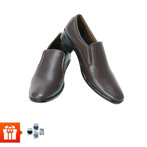 [RS]ICHI - Combo 2 đôi giày Tây nam +10 quần lót nam