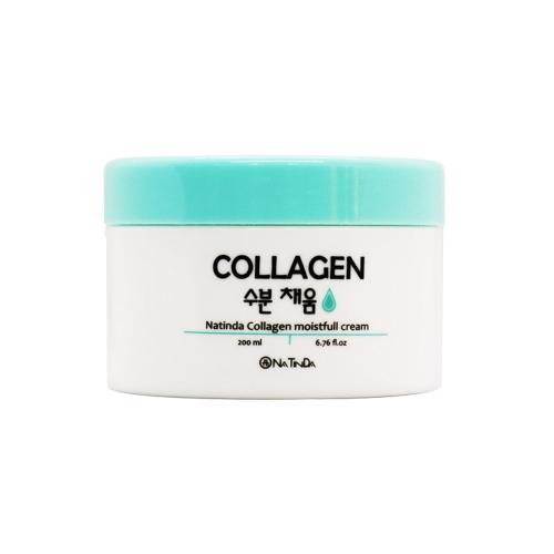 [EC]-Natinda - Kem dưỡng da, làm mờ nếp nhăn - Collagen Moistfull Cream 200ml