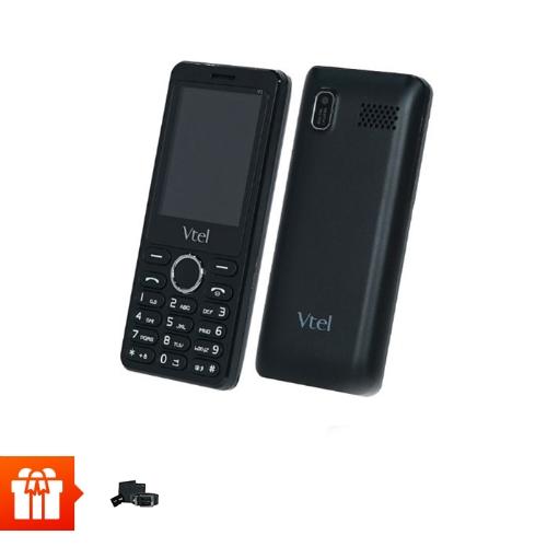 [PGM]Vtel- Điện thoại 2 sim 2 sóng tặng ví, thắt lưng, thẻ nhớ 4G