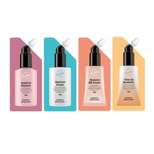 [EC]-CosmeticRevolution-Bộ chăm sóc da mặt toàn diện cho da thường,khô 4in1(Ngày+Đêm)