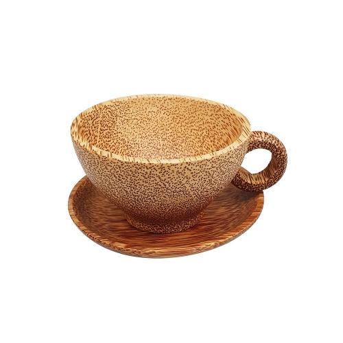 [EC]-OHIAMA-Bộ tách trà gỗ dừa