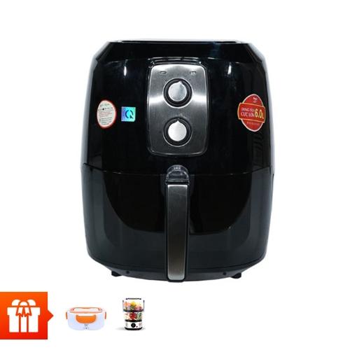 MAGIC-Lò nướng chân không 6L A83 + máy hấp thực phẩm A64, hiệu Magic + hâm nóng cơm A03